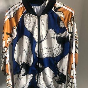 Adidas long sleeve track jacket